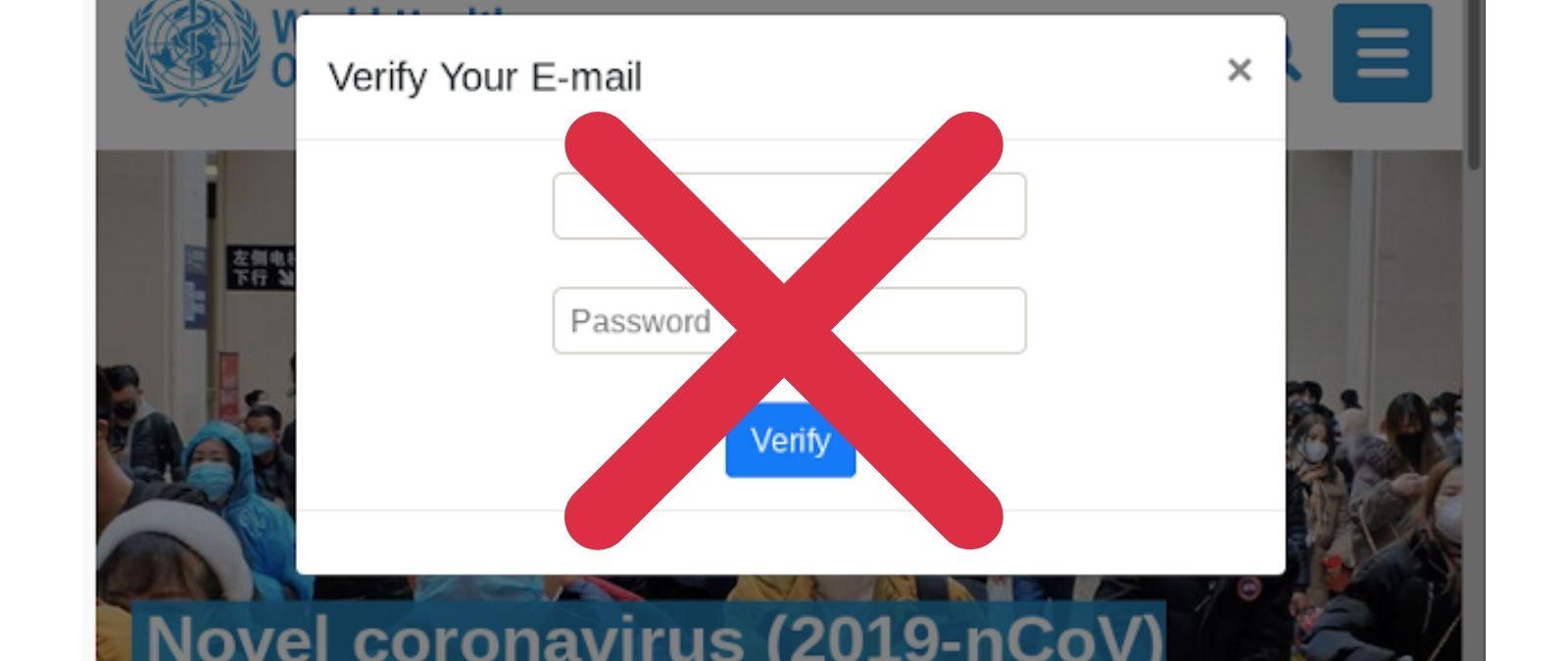 Phishing, aprovechan el COVID-19 para robar información